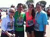 We all (Cathy, Myself, Maddy & Yvonne) all finished - It was a great race!