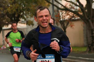 Marathon La Rochelle 2016 et relais de la pomme a Dompierre 2016