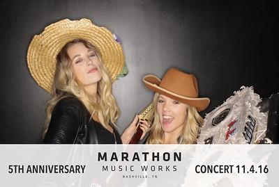 Marathon Music Works 5th Anniversary Party