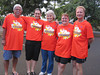 Part of the Central Oahu training the Tuesday after the 2011 Honolulu Marathon.