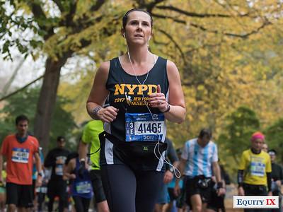 2017 NYC Marathon - Mile 25 - Maureen Belcolle © Equity IX - SportsOgram