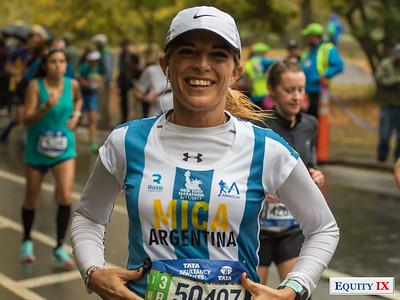 2017 NYC Marathon - Mile 25 - Micaela Rosset © Equity IX - SportsOgram