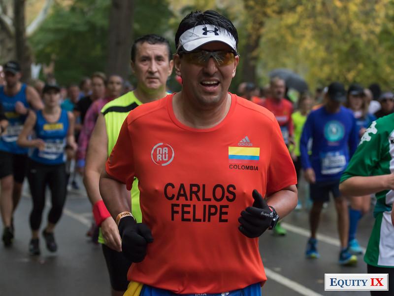 2017 NYC Marathon - Mile 25 - Carlos Felipe © Equity IX - SportsOgram