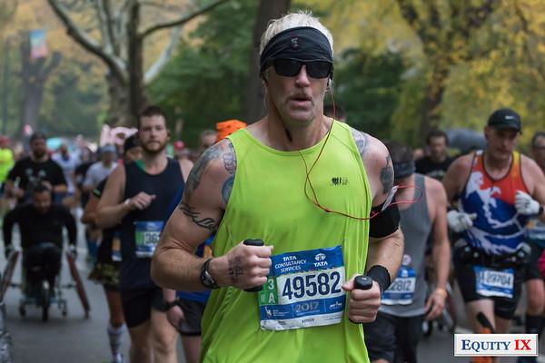 2017 NYC Marathon - Mile 25 - Scott Siegmund © Equity IX - SportsOgram