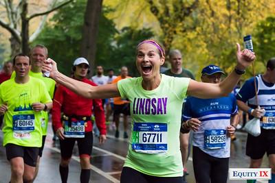 2017 NYC Marathon - Mile 25 - Lindsay Ernst © Equity IX - SportsOgram