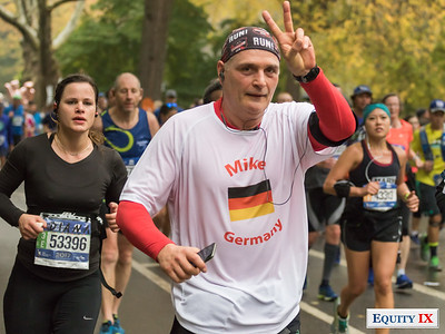 2017 NYC Marathon - Mile 25 - Mike - Germany © Equity IX - SportsOgram