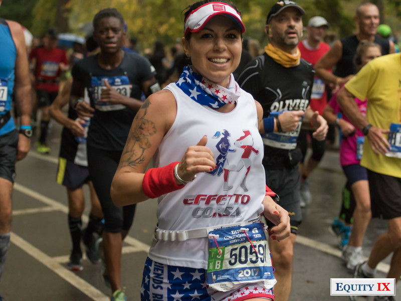 2017 NYC Marathon - Mile 25 - Elena Salmistraro © Equity IX - SportsOgram