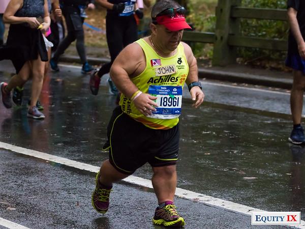 2017 NYC Marathon - Mile 25 - John Young © Equity IX - SportsOgram