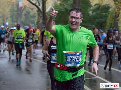 2017 NYC Marathon - Mile 25 - Jim Murphy © Equity IX - SportsOgram