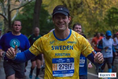 2017 NYC Marathon - Mile 25 - Kristian Hoglind © Equity IX - SportsOgram