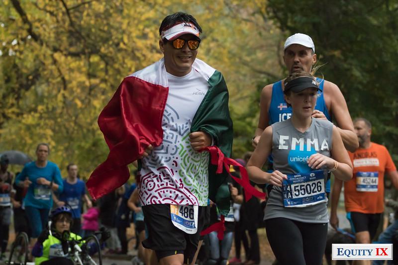 2017 NYC Marathon - Mile 25 - Emma © Equity IX - SportsOgram