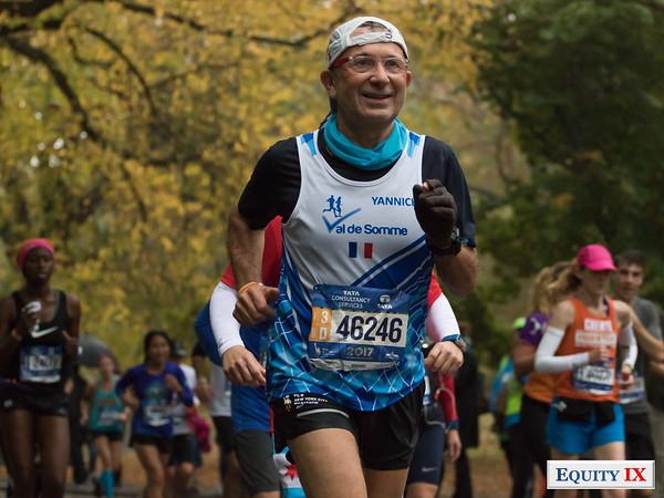2017 NYC Marathon - Mile 25 - Yannick Lefevre © Equity IX - SportsOgram