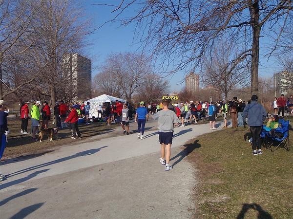 Chicago 50k Ultramarathon April 2008