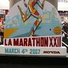 The 22nd Los Angeles Marathon.