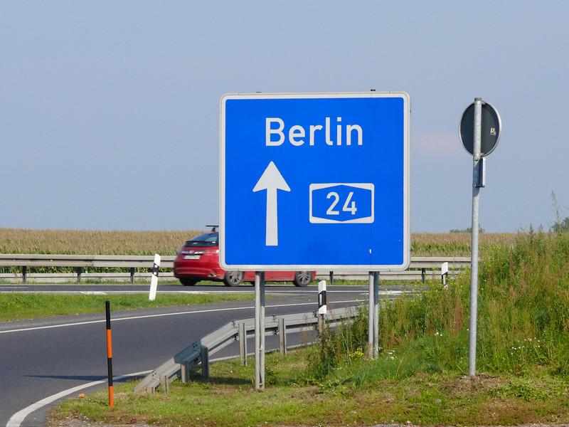 Sista rasten före Berlin