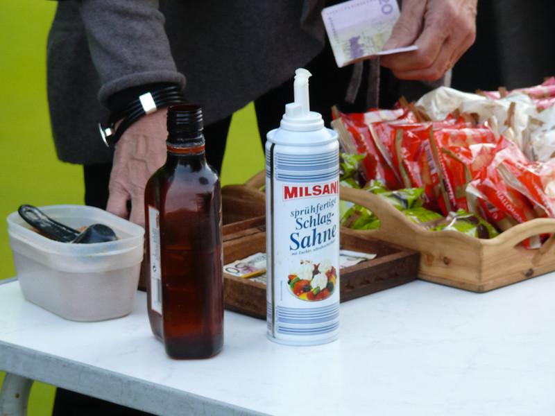 Även alkoholhaltiga drycker serveras