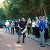 Mats Borglund tar upp en sista hyllning till Busso