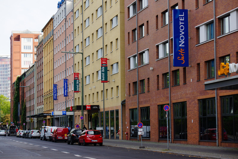 Ibis budget hotel på Anhalter Strasse