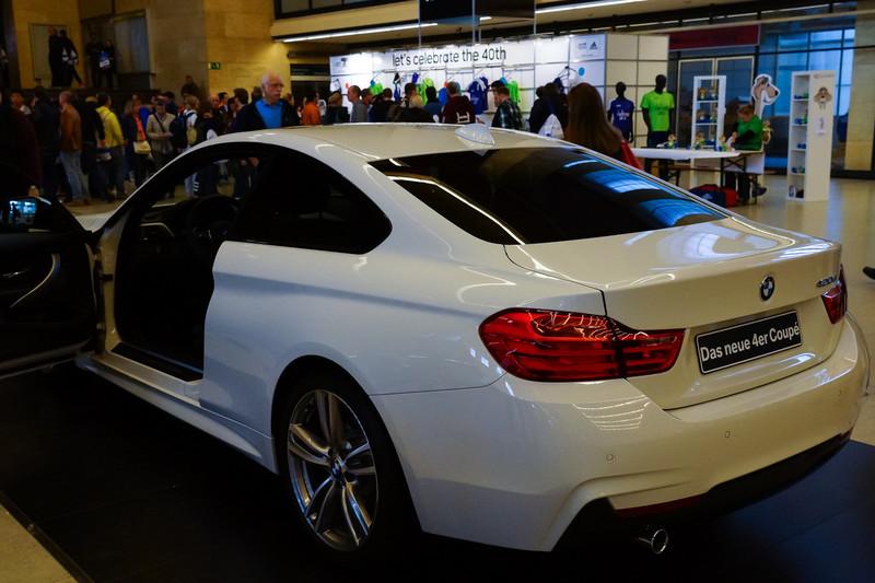 Den allra första coupén i BMWs 4-serie