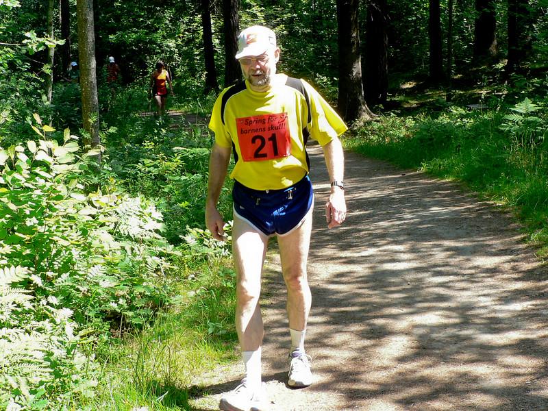 Conny Adolfsson på väg tillbaka i löparspåret efter hjärtoperation