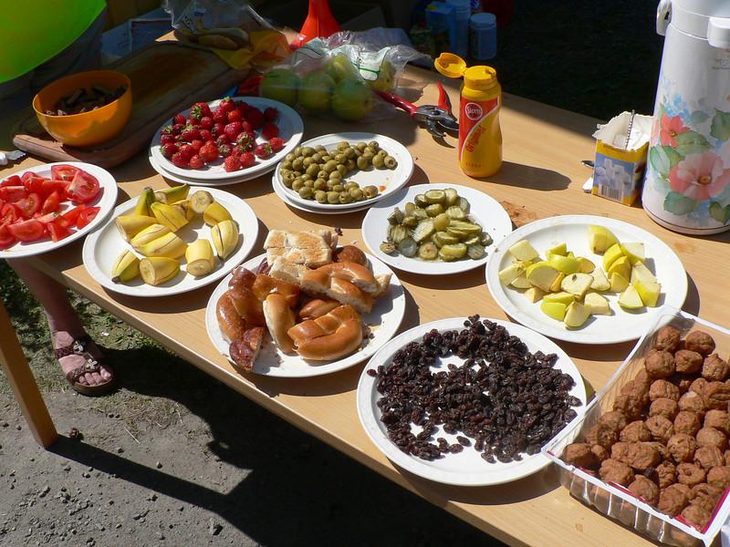 Tomat, banan, oliver ...
