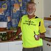 Chefen själv, KG Nyström, i full fart i köket