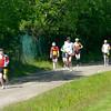 På väg in för varvning för bl.a Jan Halldén som sprang 24h (röd nummerlapp)