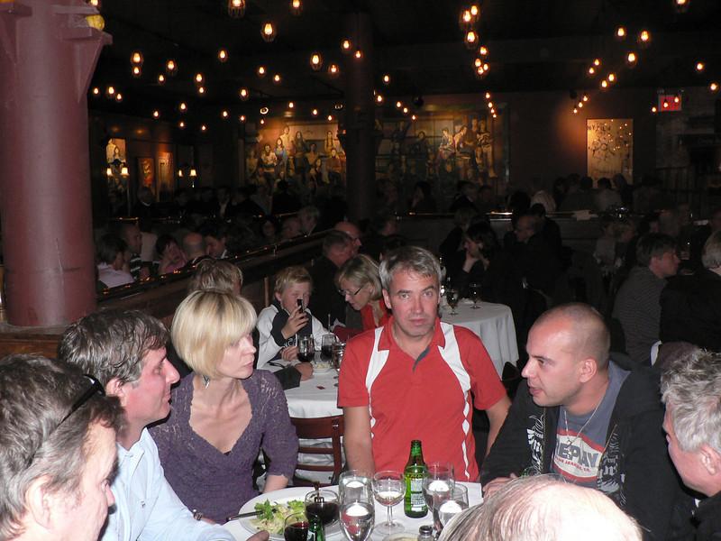 Marafesten på restaurang O'Neals