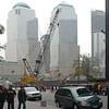 Platsen för 9/11. En yta av 250*250 m2 förstördes