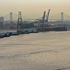Vy mot hamnen och Verrazanobron