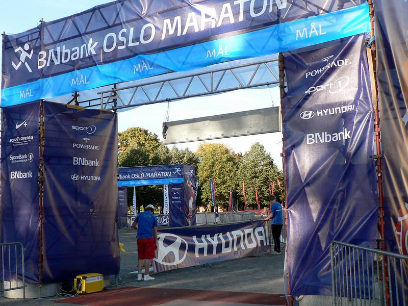 Start and finish at Akershus