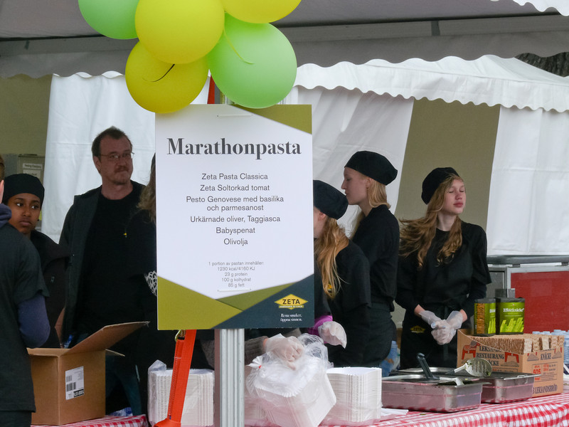 Dags för pastaparty