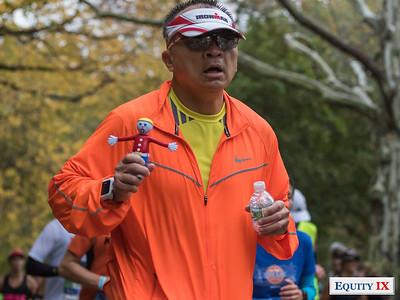 2017 NYC Marathon - Mile 25