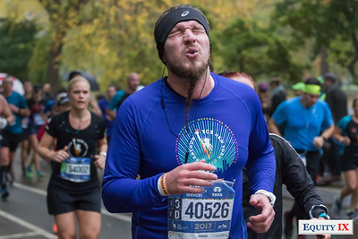 2017 NYC Marathon - Mile 25
