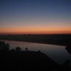 6:05am: Sunrise over South Big Creek Lake. About mile 8.
