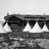 Blackfeet Tipis at East Glacier Lodge