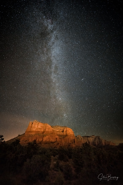 Courthouse Milky Way