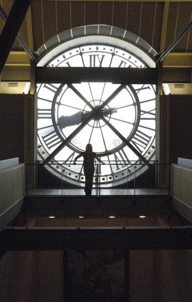 Clock, Musée d'Orsay