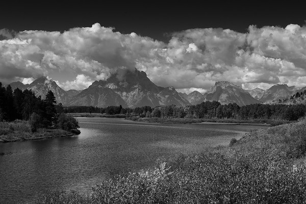 Tetons from the Snake River