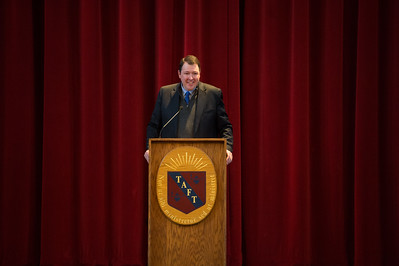 Marc Thiessen '84 visits Taft