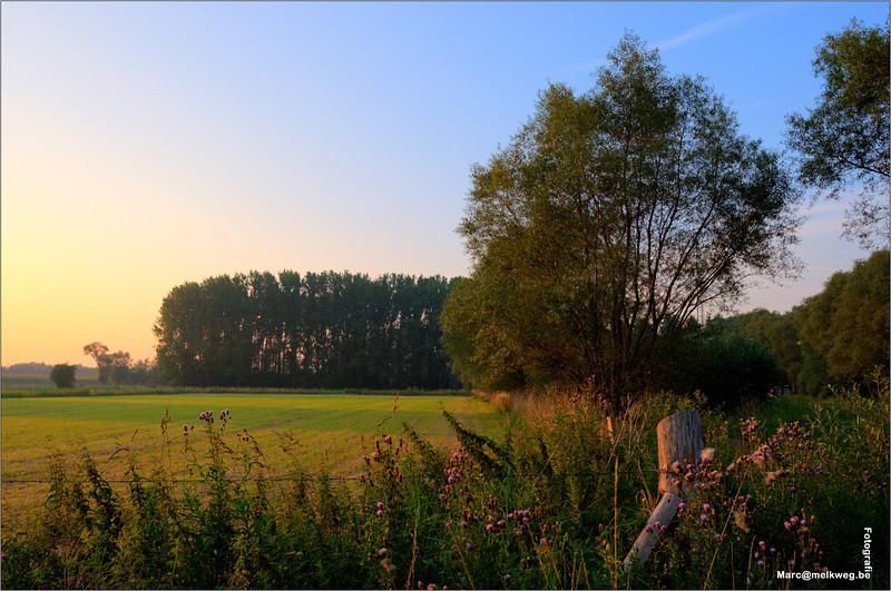 2011 melkweg belgium belgique kiekje landschap