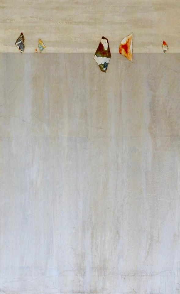 "Sail Away II-Kuttner, 64""x40"" mixed media painting on loose canvas"
