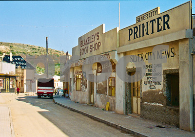 """Calle Mayor, Portmán as seen in the film """"One Of The Hollywood Ten"""""""