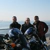 "Me, Tom, Jon (L to R); along the ""Brunnel"""