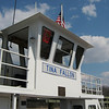 The Woodland Ferry, DE.  They cut the boats Jimmy Fallon and Tina Fey in half and made two new boats, the Jimmy Fey and the Tina Fallon...