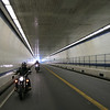 "Under the Chesapeake Bay in the ""Brunnel"" - Bay Bridge Tunnel."