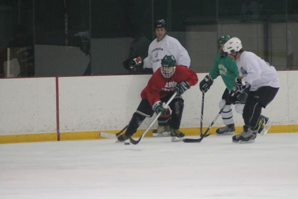 Faculty vs. Senior Hockey