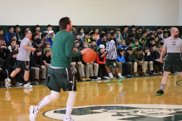 Faculty vs. Seniors Basketball