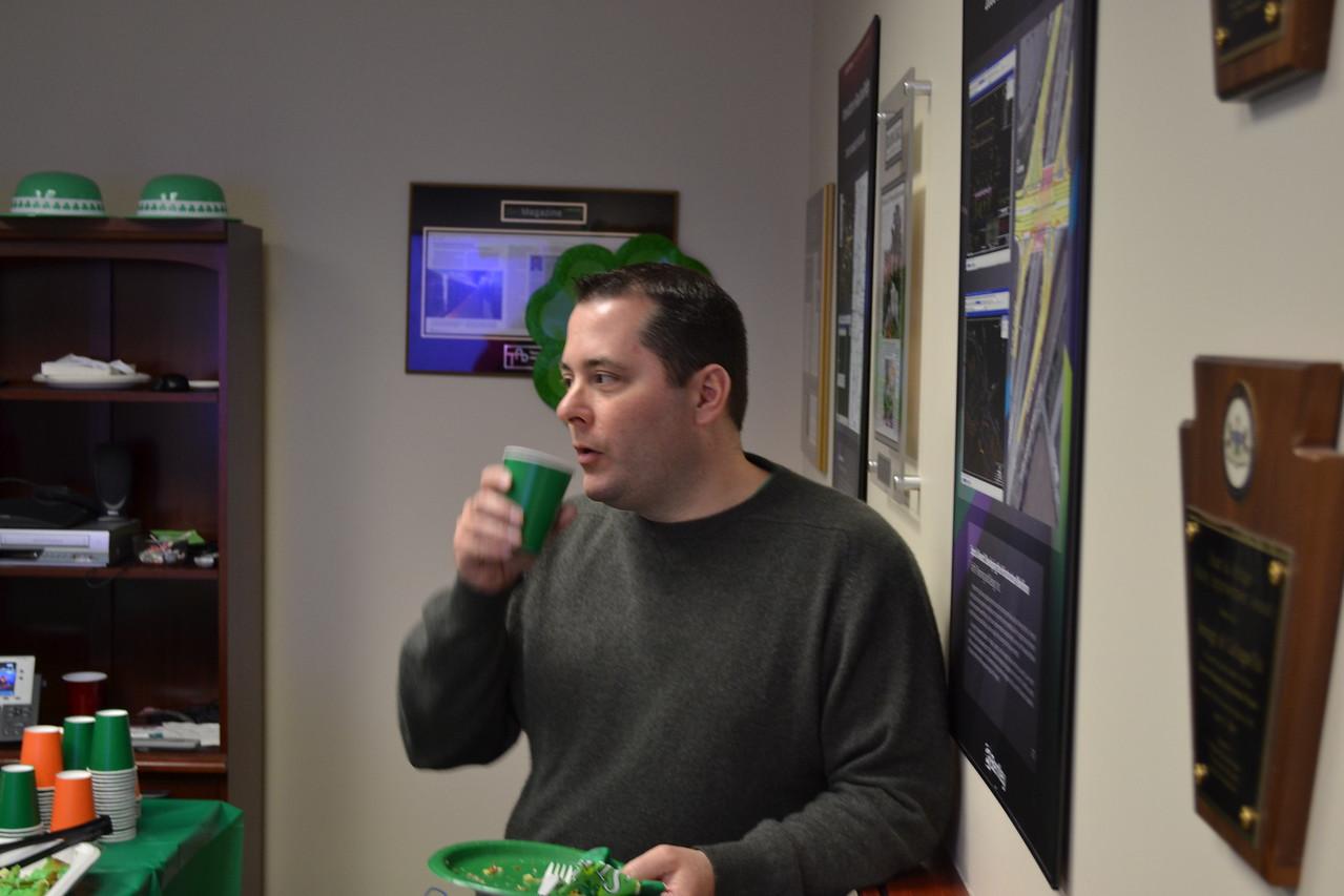 March 2015: Irish Potluck