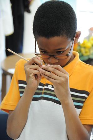 Fourth Graders Explore Ancient Cuneiform Script